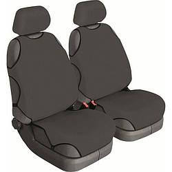 Майки на сидіння авто (універсальні) Beltex Cotton 2 шт без підголівників сірі (11110)
