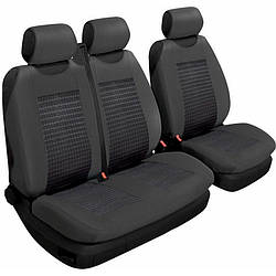 Авточохли на сидіння (передні) універсальні Beltex 2+1 тип чорний без підголівників (54210)