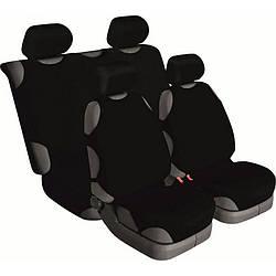 Майки на сидінні автомобіля Beltex Cotton 4шт універсальні без підголівників чорний (13210)