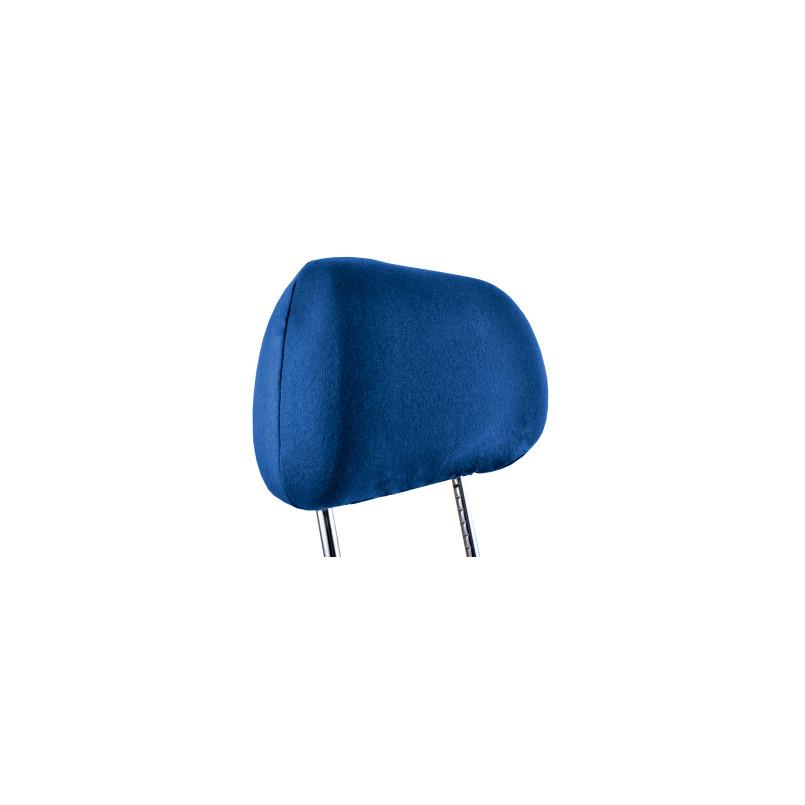 Чехлы на подголовники Beltex Cotton темно синие 2 штуки (92700)