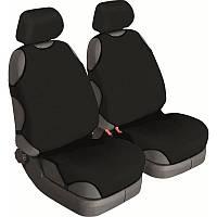 Майки на сиденья автомобиля универсальные Beltex Delux чёрные 2 штуки (12210)