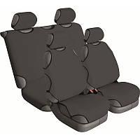 Майки на сиденья автомобиля универсальные Beltex Cotton 4 штуки без подголовников графит (13510)