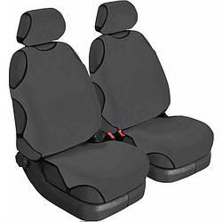 Майки на сидіння авто (універсальні) Beltex Cotton 2 шт без підголівників графіт (11510)