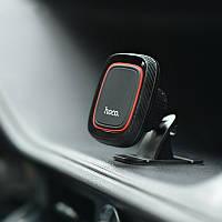 Магнитный держатель для телефона в машину Hoco Lotto Series Magnetic Mount черный (CA24)