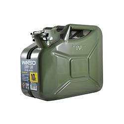 Канистра для бензина 10 л металлическая Winso (165 100)