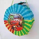 Піньята Hot Wheels хотвилс hotwheels машина машинки тачки паперова для свята, фото 9