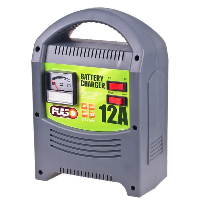 Зарядное устройство для автомобильного аккумулятора Pulso 6/12В 9/160Ач (BC-15160)