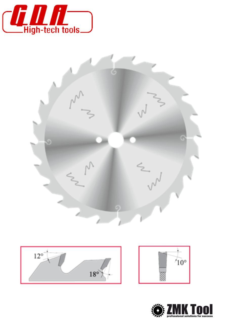 Пила для продольного реза 350x30x3,5/2,5 z28 уровень обесшумливания ECO