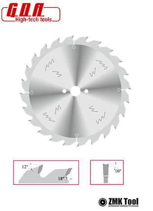 Пила для продольного реза 350x30x3,5/2,5 z28 уровень обесшумливания ECO, фото 2