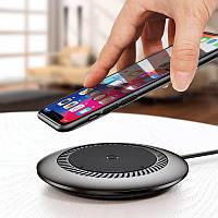 Беспроводная зарядка для телефона, смартфона и часов Baseus Wireless Charger Whirlwind. Зарядное устройство