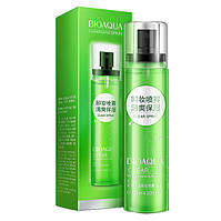 Минеральный спрей для снятия макияжа с снежным лотосом, Bioaqua Mineral Cleansing Clear Spray, 120мл