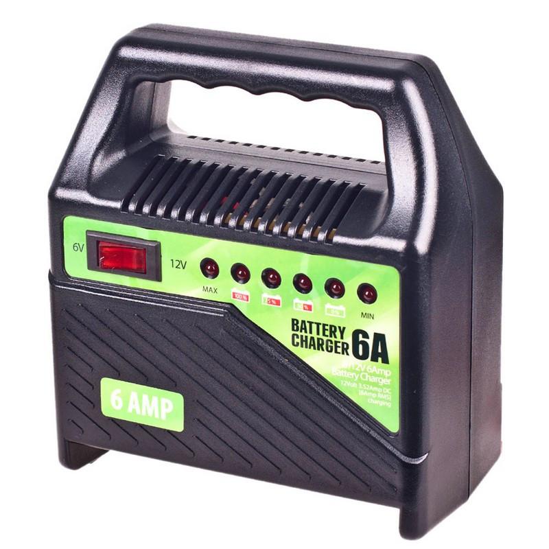 Зарядное устройство для автомобильного аккумулятора Pulso 6/12В 6А 15/80Ач (BC-15860)