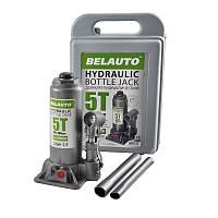 Гидравлический домкрат Белавто 5т 195-380 мм бутылочного типа в кейсе (DB05P)