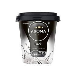 Ароматизатор в машину пахучка для авто Aroma Car Cup Gel Black