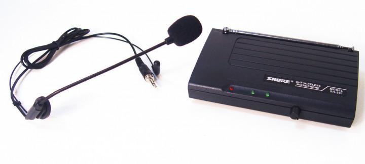 Радиосистема Shure SH-201, база, микрофон