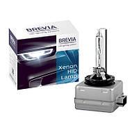 Ксеноновая лампа D1S цоколь для фар автомобиля 6000K Brevia (1 шт)