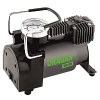 Автомобильный компрессор однопоршневой, для накачки подкачки шин колес авто машины URAGAN 37л 7Атм (90130)