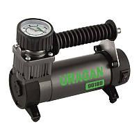 Автомобильный авто компрессор однопоршневой, для накачки подкачки шин колес машины Uragan 35 л/мин (90180)