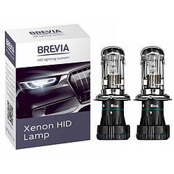 Бі-ксенонові лампи H4 2шт Bi-xenon Brevia 35W 6000K P43t-38 (12460)