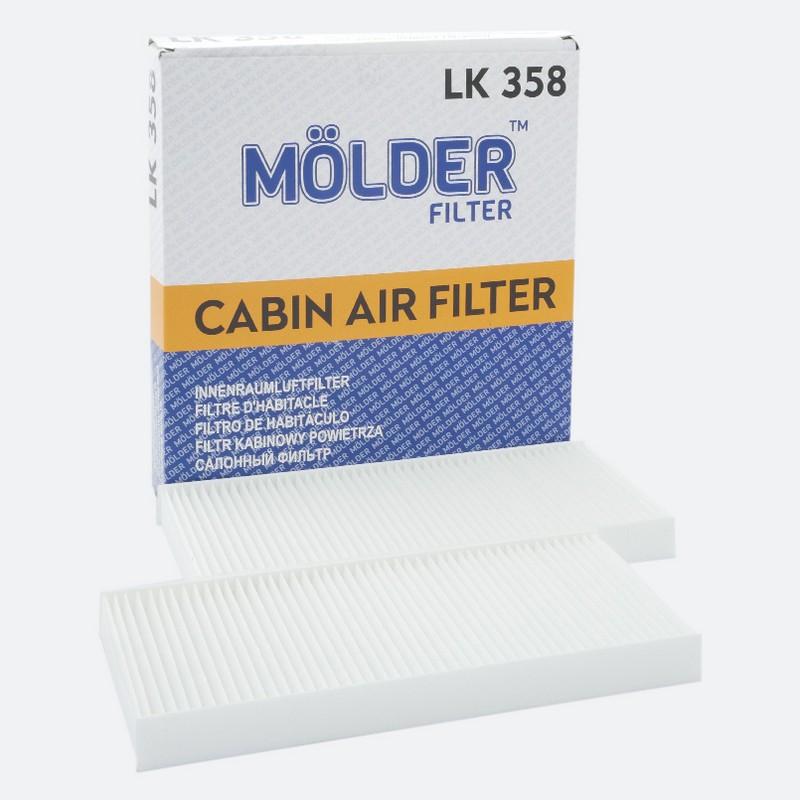 Фильтр салона MÖLDER LK358