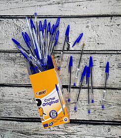 Ручка Масляная Crrystal Original средняя линия 1,00 мм синяя 847898 Bic Франция