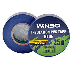 Изолента Winso ПВХ синяя 25 м 19 мм (153250)