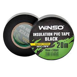 Изолента Winso ПВХ черная 20 м 19 мм (153100)