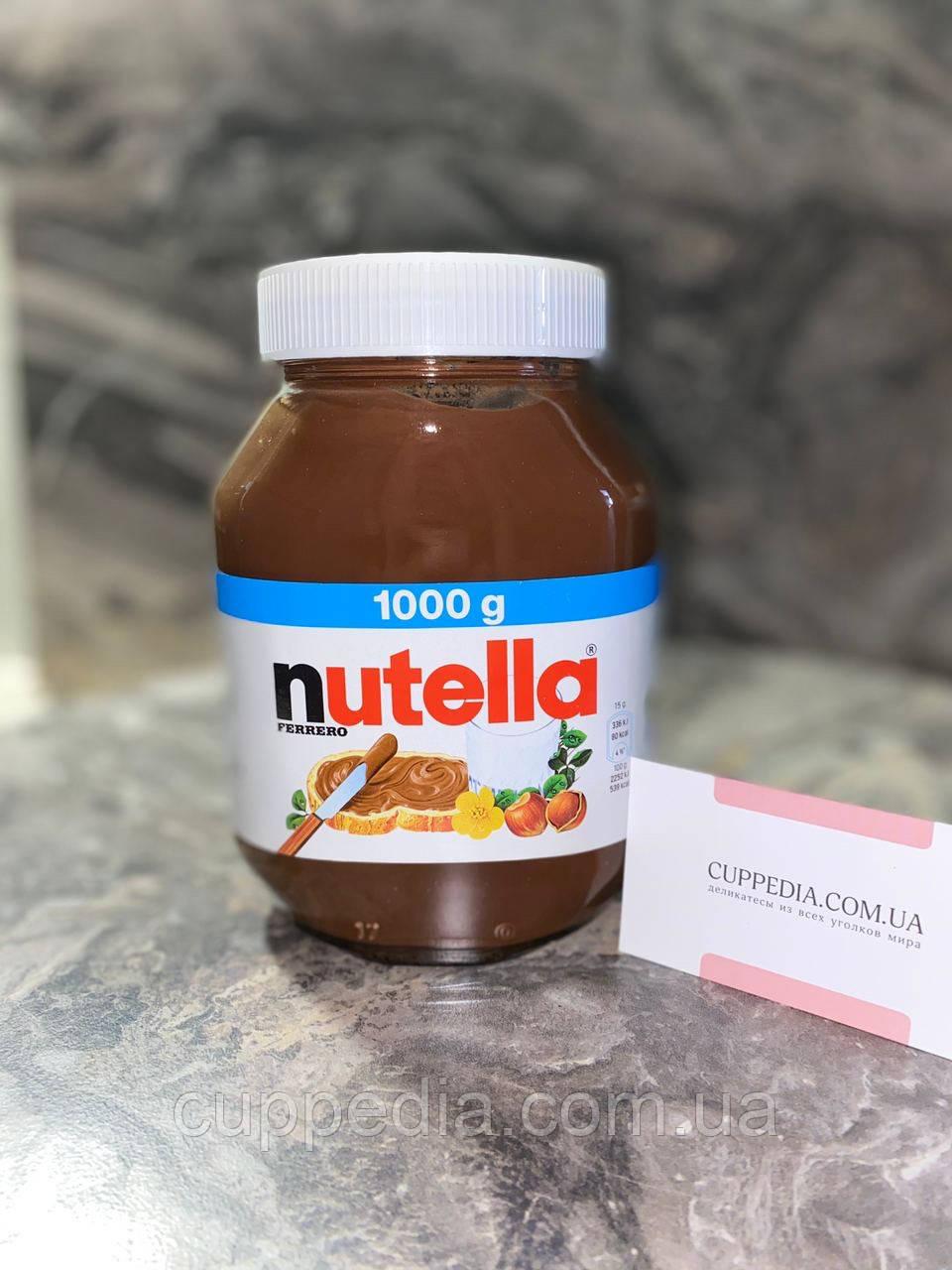 Nutella шоколадная паста 1000 грм