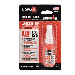 Червоний фіксатор різьби NOWAX Threadlocker Red