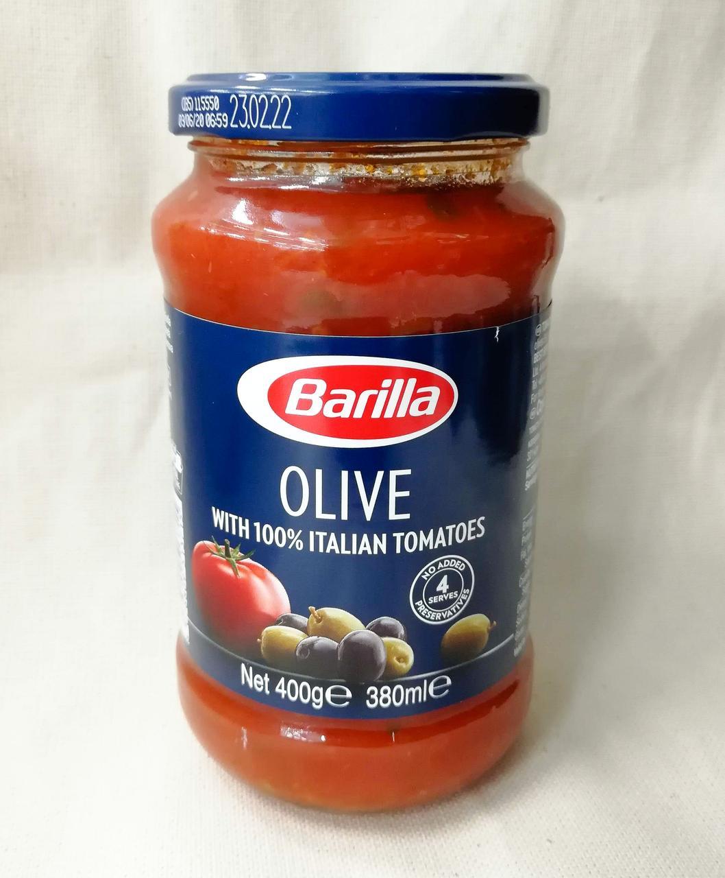 Barilla Olive соус
