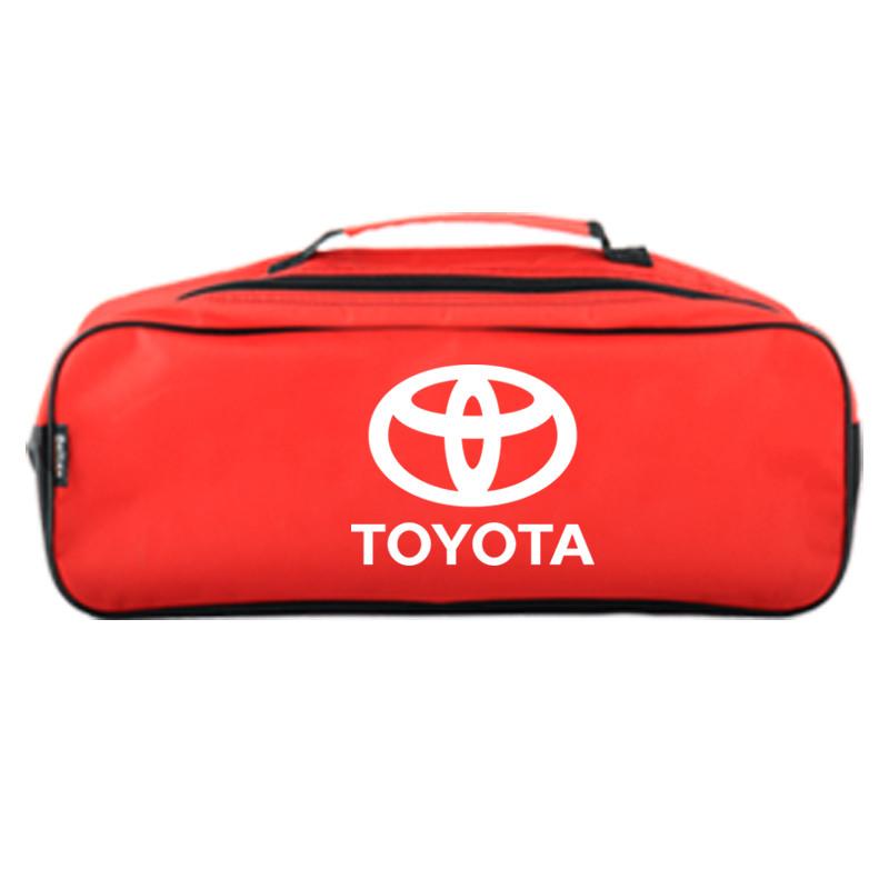 Сумка в багажник Toyota Красная