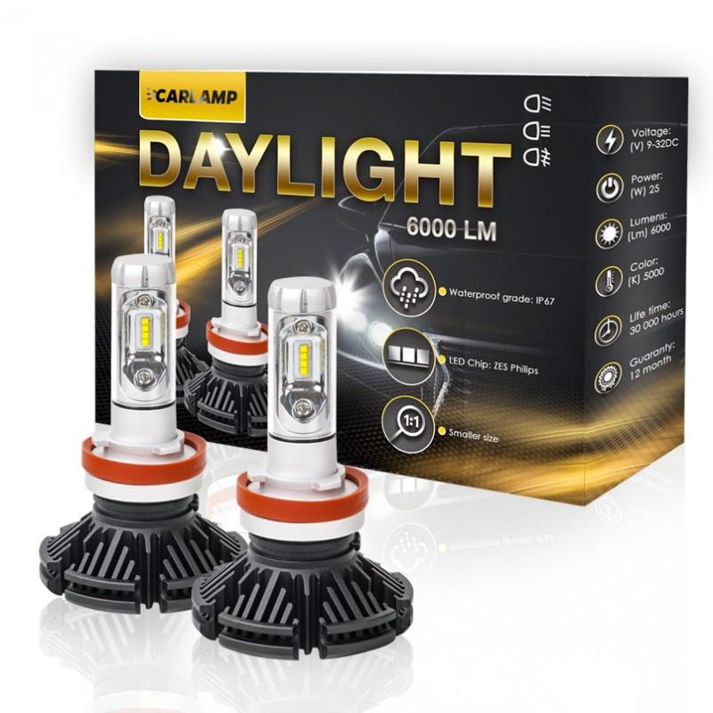 Светодиодные автолампы Carlamp LED Daylight H11 DLH11