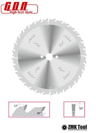 Пила для продольного реза с ограничителем подачи 350x30x3,5/2,5 z32 уровень обесшумливания ECO, фото 2
