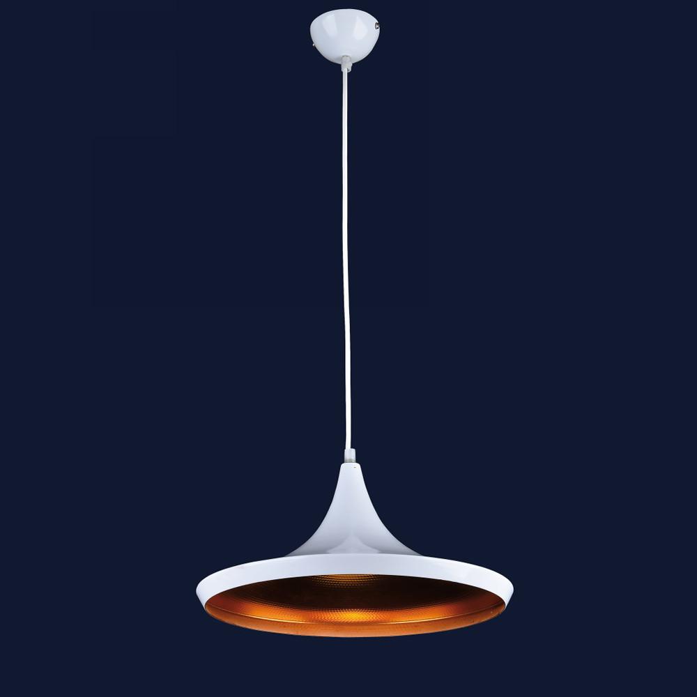 Висячий светильник металлический в стиле лофт цвет белый Levistella&72042013-1 WHITE