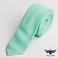 Нежно-мятный галстук, фото 1