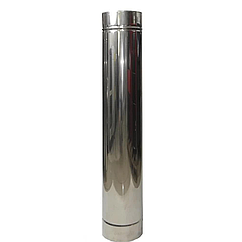Труба нерж L-0,5m толщина 0,8 мм Вент Устрой