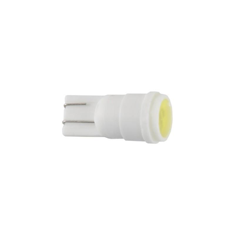 Автолампы светодиодные Solar 12V T10 W2.1x9.5d 1SMD 1W Ceramic white