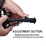 Сошки оружейные телескопические для винтовки PCP HARRIS BIPOD копия, фото 4
