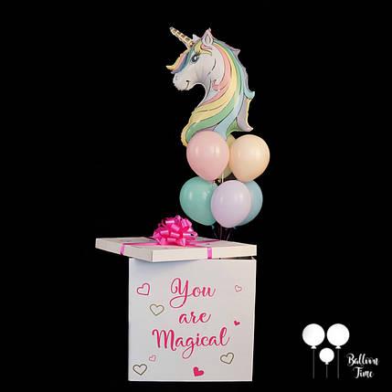 Коробка сюрприз с единорогом для маленькой принцессы, фото 2