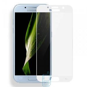 Защитное стекло Full Screen Samsung A3 2017 A320 white тех.пакет