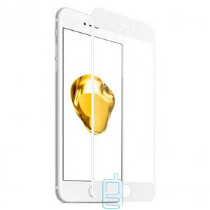 Защитное стекло Full Screen Apple iPhone 7 Plus, iPhone 8 Plus white тех.пакет