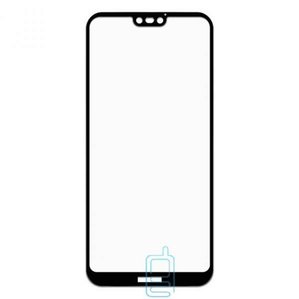 Защитное стекло Full Glue Huawei P20 Lite black тех.пакет
