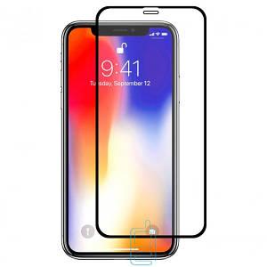 Защитное стекло Full Glue Apple iPhone XR black тех.пакет.