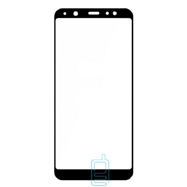 Защитное стекло Full Glue Samsung A6 2018 A600 black тех.пакет