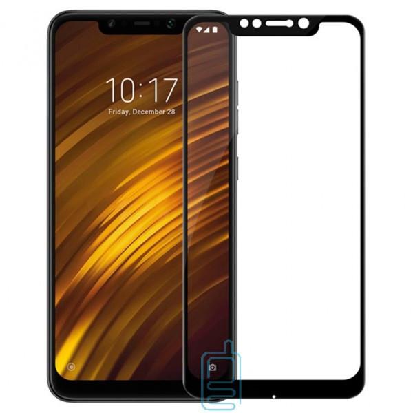 Защитное стекло Full Glue Xiaomi Pocophone F1 black тех.пакет