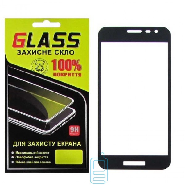 Защитное стекло Full Glue Samsung J2 Core J260 black Glass