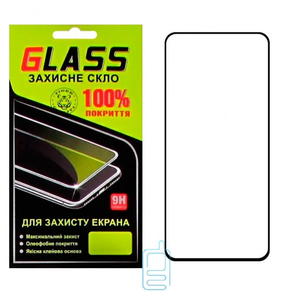 Защитное стекло Full Glue Samsung A80 2019 A805 black Glass