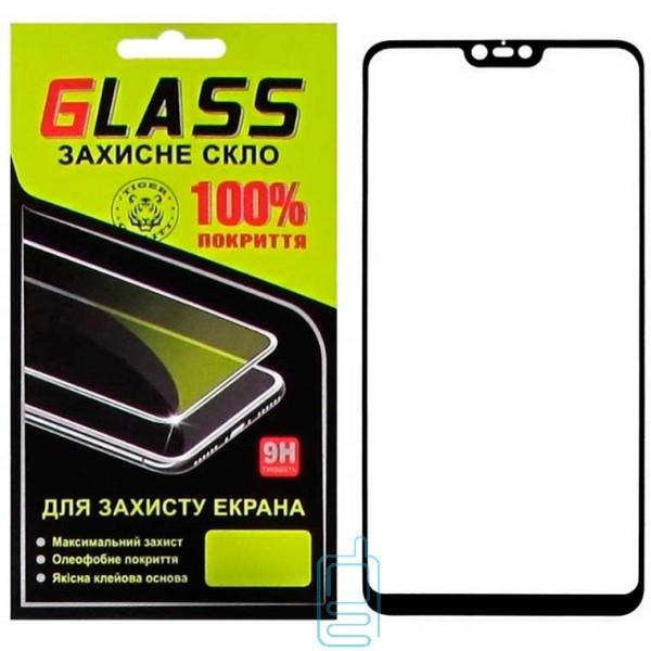 Защитное стекло Full Glue Xiaomi Mi 8 Lite, Mi 8X black Glass