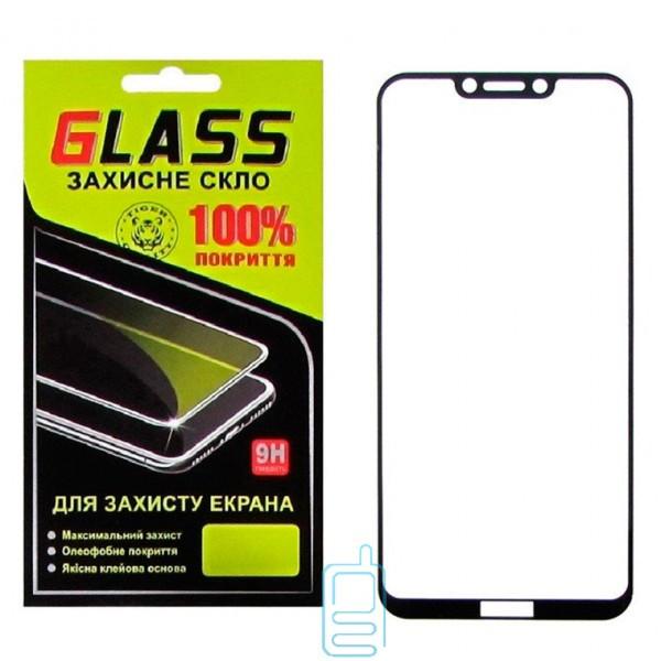Защитное стекло Full Screen Huawei Honor Play black Glass