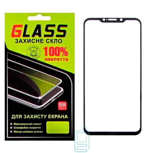 Защитное стекло Full Screen Meizu X8 black Glass